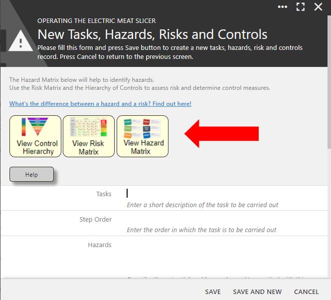 Risk Matrix Icons
